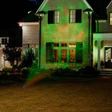 halloween spotlights gemmy lightshow projection spot light fire and ice green green