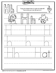 bunch ideas of letter h tracing worksheets preschool also sheets