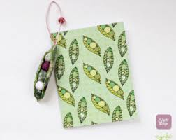 fabric peapod charm peas in a pod ornament