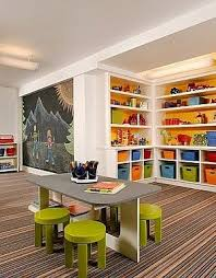 playroom table with storage basement kids playroom ideas and design tips playrooms basements