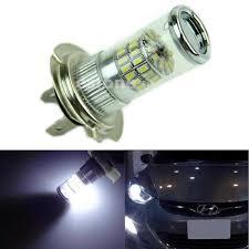 Led Car Lights Bulbs by 48 Smd H7 Led Bulb Reflector Mirror Design For Hyundai High Beam