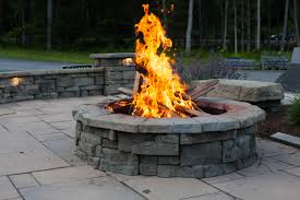 Fire Pit Kits by Fire Pit At Kalleco Nursery Corp Built Using The Rosetta