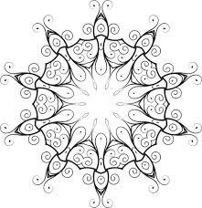 lace ornament domain vectors