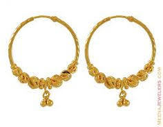 hoops earrings india 22ct gold hoop earrings 1 india gold hoops gold