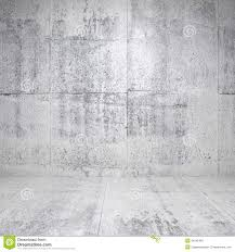 abstract white interior with concrete walls royalty free stock