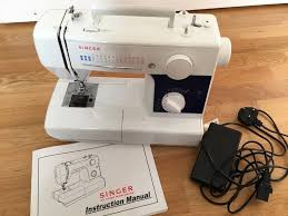 singer 3500 sewing machine with instruction manual recently