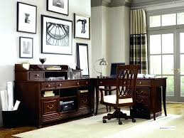 long office desk beautiful contemporary home with modern furniture