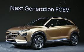 hyundai motor u0027s next gen fuel cell suv promises range and style