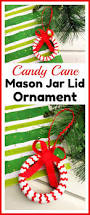 candy cane mason jar lid ornament a cultivated nest
