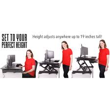 Standing At Your Desk Vs Sitting by Stand Steady Standing Desks Converters Sit Stand Desk U0026 Accessories
