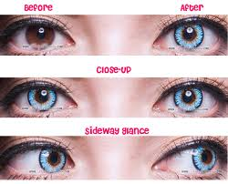 halloween colored contacts cheap princess pinky twilight blue circle lenses colored contacts