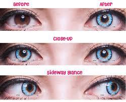 prescription contact lenses halloween princess pinky twilight blue circle lenses colored contacts