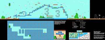 Super Mario World Map by Mario Brothers 3 World 5 1 Nintendo Nes Map