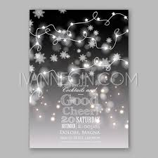 Happy New Year Decorations Vector by Christmas Glowing Lights Merry Christmas And Happy New Year Card