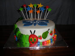 beachy cakes the very hungry caterpillar cake