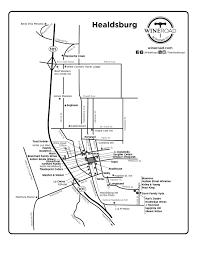 Windsor Colorado Map by Healdsburg Wine Road