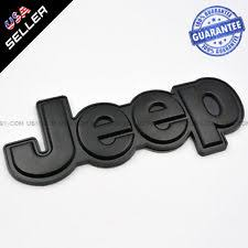 jeep black emblem jeep car truck decals emblems and license frames ebay