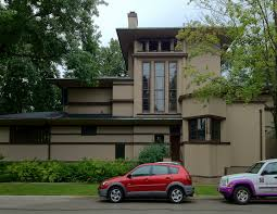 House Car Parking Design Frank Lloyd Wright U0027s Oak Park Illinois Designs The Prairie
