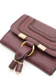 chloe burgundy wallet designer consignment u2013 mine u0026 yours