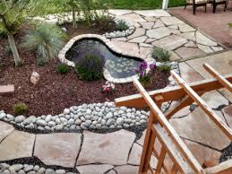 Backyard Pebble Gravel Landscape Materials Price List Littleton Colorado Santa Fe