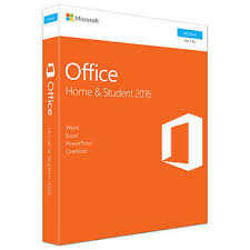 office home microsoft office home and student 2016 product key card