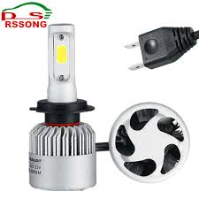 emergency light laws by state h7 cob led car headlight bulb kit 72w 8000lm auto front light h7 fog