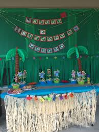 lilo and stitch birthday party decor bunny u0027s 2nd birthday