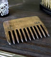 recycled wood beard comb u0026 beard oil set features groomed and