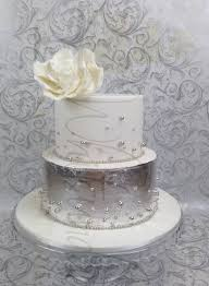 silver wedding cakes whitsunday baked creations
