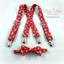 horseshoe suspender set baby suspender set toddler suspender