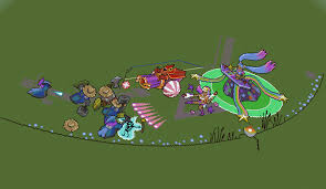Summoners Rift Map League Of Legends 8 Bit Summoners Rift Rebuild Creation