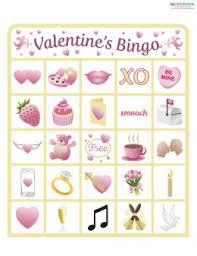 valentines bingo valentines bingo free