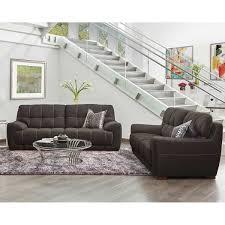 Grey Fabric Chesterfield Sofa by Sofas U0026 Loveseats Costco