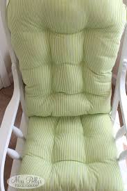 Round Back Rocking Chair Cushions Best 25 Glider Cushions Ideas On Pinterest Recover Glider