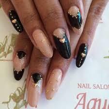 purple coffin false nails short glitter fake by nicolasnails14