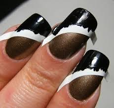 deez nailz claire u0027s u002714 karats u0027 with nailene black french tip