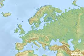 Blank Map Of World Physical by Free Physical Maps Of Europe U2013 Mapswire Com