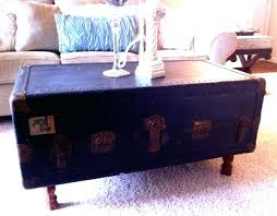 brass trunk coffee table coffee tables onevintage trunk coffee table ebay vintage antique