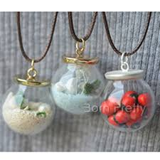 glass ball necklace images 1 75 mini glass ball pendant for necklace diy handmade necklace jpg