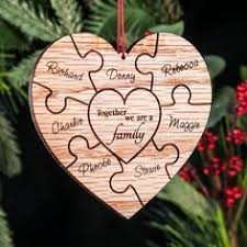 personalized family ornament gift ornament
