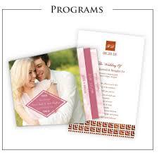 wedding program paper kits wedding invitations bridal shower invitations wedding