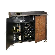 Wine Bar Cabinet Furniture Bar And Wine Cabinets Entertain In Style With Regard To Wood Wine