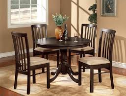 dining room elegant furniture with beige wallpaper round dining