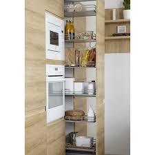 cuisine en chene blanchi meuble de cuisine delinia composition type graphic imitation chêne