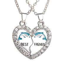 friend heart necklace images 2 piece best friends yin and yang b f necklaces retailite in jpg
