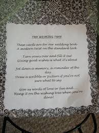 wishing tree sayings best 25 wedding wishing trees ideas on wishing trees