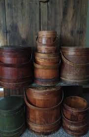682 best primitive buckets barrels boxes crates firkins totes