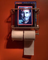 ipad bathroom magazine rack this is what happens when a tr u2026 flickr