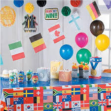 Olympic Games Decorations 2018 Winter International Games Party Supplies Usa Party Supplies