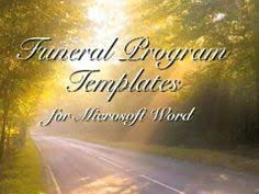 downloadable funeral program templates downloadable funeral bulletin covers themed funeral program